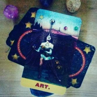 art temperance zirkus magi tarot