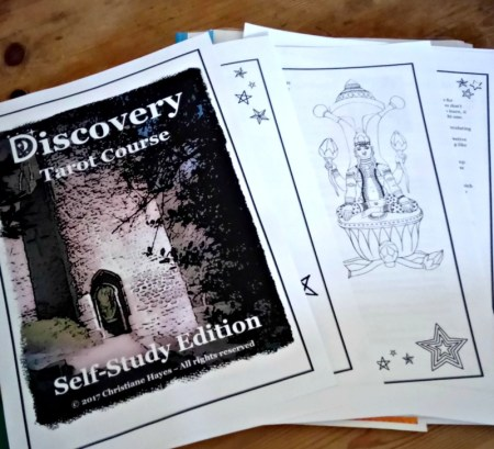 discovery tarot course self-study edition