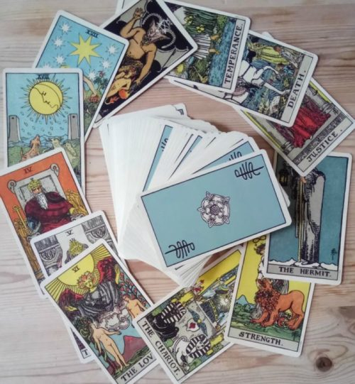 smith waite centennial edition discover your tarot love match
