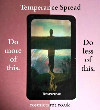 temperance tarot spread