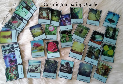 how to create your own oracle deck