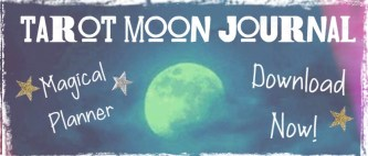tarot moon journal planner