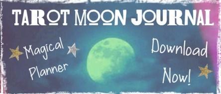 tarot moon journal planner