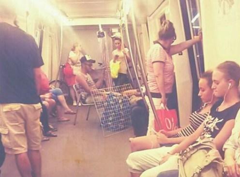 merge relaxat cu metroul - Cosmin Cengher