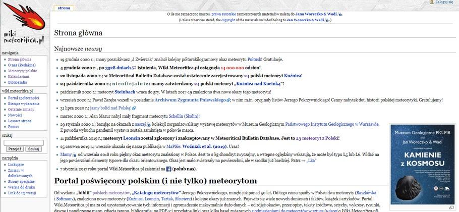 Wiki.Meteoritica.pl