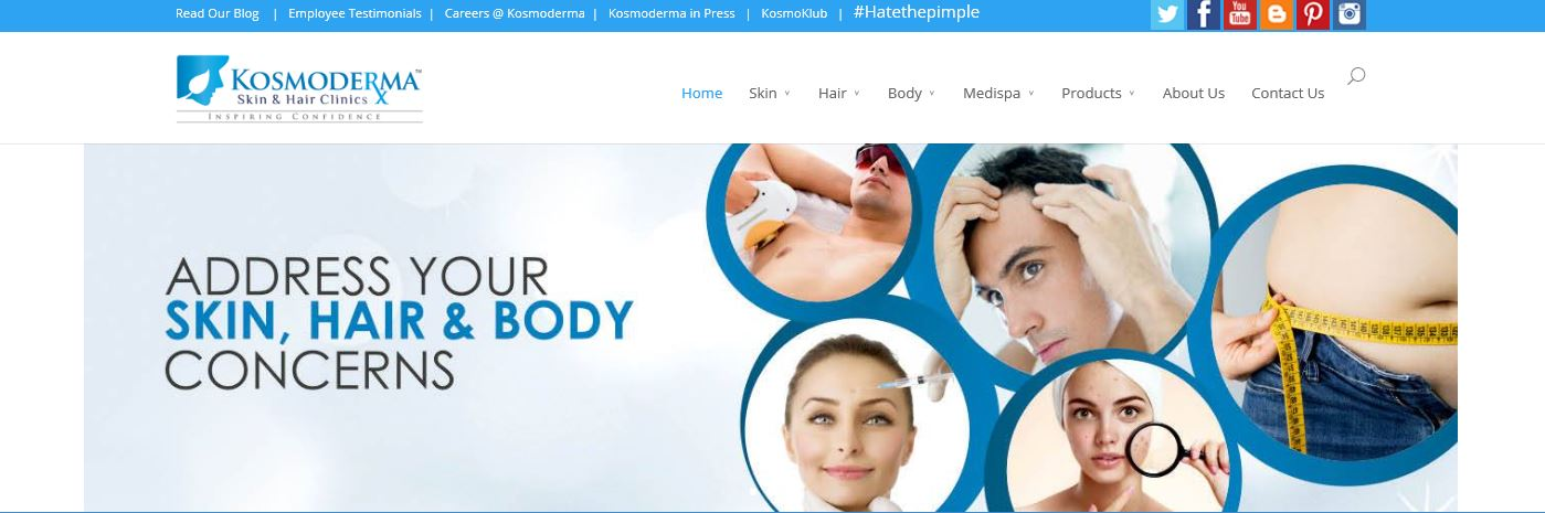 Kosmoderma Skin And Hair Clinic Review Medical Clean Up