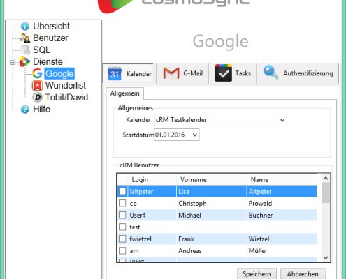 cosmoSync - Google