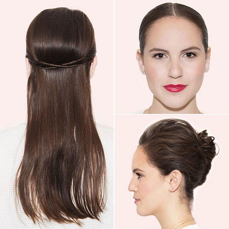 Look In 5 Minuten 6 Notfall Frisuren Für Ungewaschene Haare