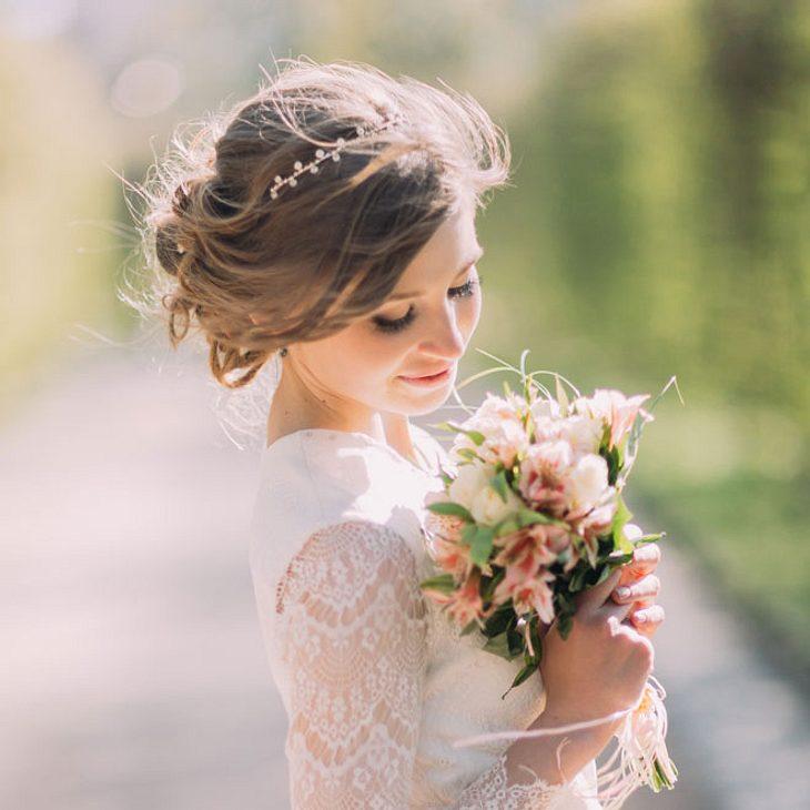 Hochsteckfrisuren Hochzeit Hbsche Frisuren fr die Braut
