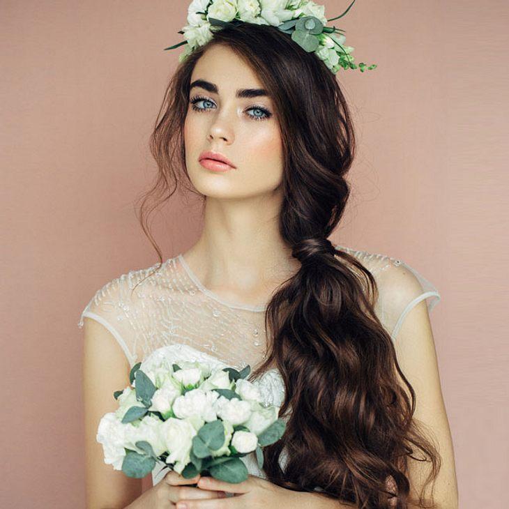Brautfrisuren Für Lange Haare 15 Hochzeits Frisuren Für Eine Lange