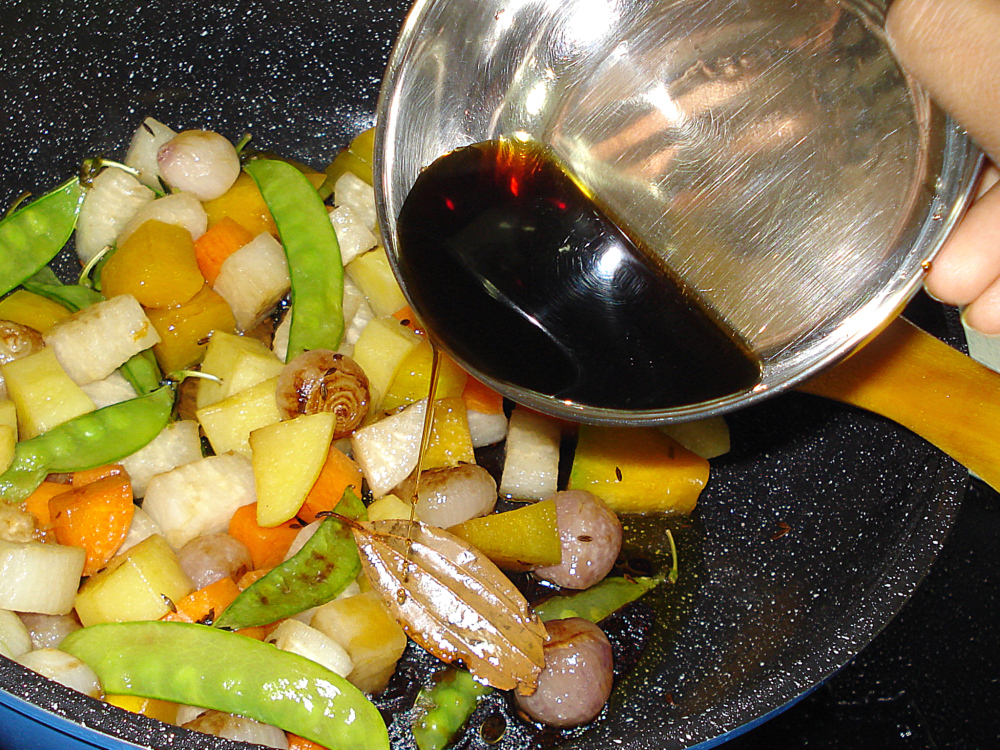 mixed vegetables with tamarind pic33