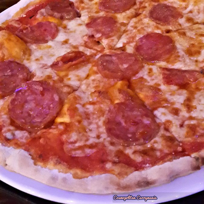 This Pepperoni Pizza was yum!
