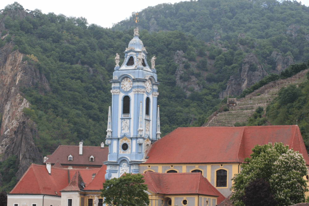 Durnstein blue church