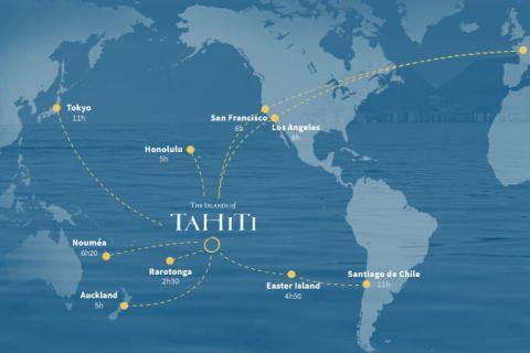 Tahiti-mapa