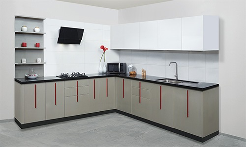 The Features And Advantages Of L Shaped Modular Kitchen Design Cosmopolit Home