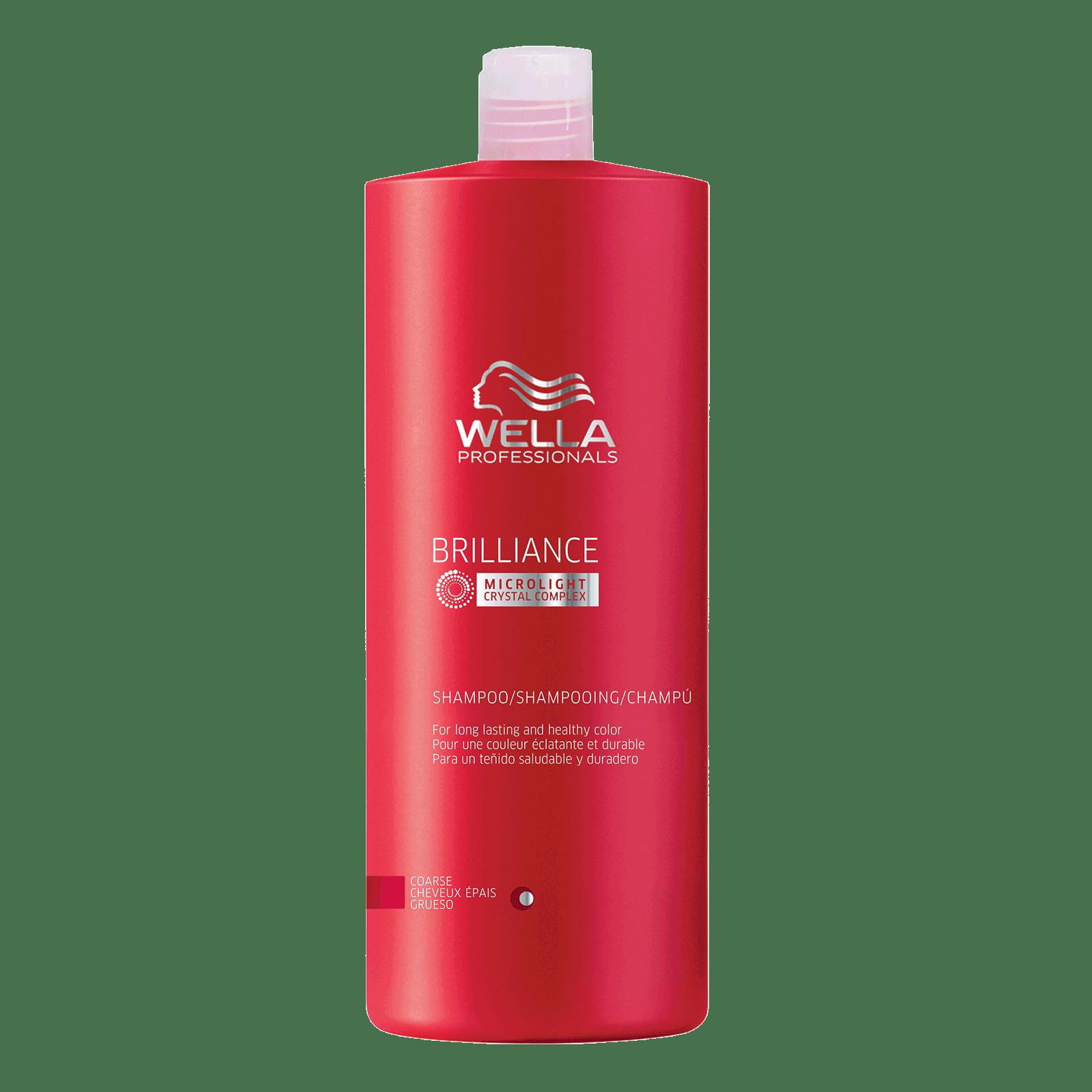 Brilliance Shampoo For Coarse Colored Hair - Wella | CosmoProf