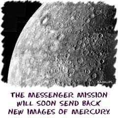 NASAs Messenger mission will soon send back new images of Mercury.