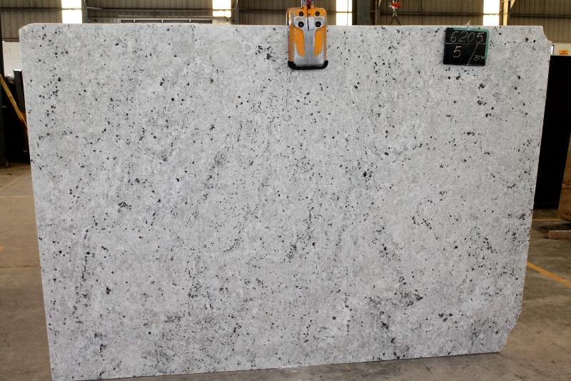Buy Colonial White 3CM Granite Slabs  Countertops In Raleigh NC  Cosmos Granite