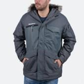 Basehit Men's Jkt With Det/ble Fake Fur On Hood (20857101366_30908)