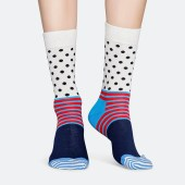 Happy Socks Stripes & Dots Unisex Socks - Unisex Κάλτσες (9000041042_2074)