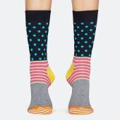 Happy Socks Stripes & Dots Unisex Socks - Unisex Κάλτσες (9000041043_2074)