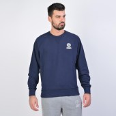 Franklin & Marshall Fleece Cotton Round Neck Sweatshirt (9000040431_1629)