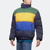 Tommy Hilfiger Stripe Print Oversize Bomber Jacket