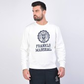 Franklin & Marshall Fleece Cotton Long-Sleeve Top (9000040442_3428)