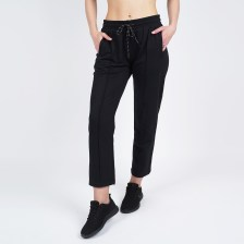 Body Action WOMEN CROPPED TRACK PANTS (9000050089_1899)
