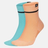 Nike Unisex 2 Pairs Sneakers Unisex Sox Ankle Socks (9000052904_20432)