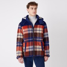 Wrangler The Check Pop-Over Puce Brown (9000066772_49502)