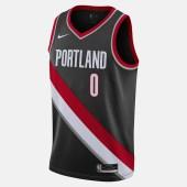 Nike NBA Damian Lillard Portland Trail Blazers Icon Edition 2020 Men's Jersey (9000055401_46447)