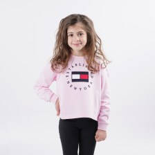 Tommy Jeans Heritage Logo Παιδική Μπλούζα με Μακρύ Μανίκι (9000065285_41760)