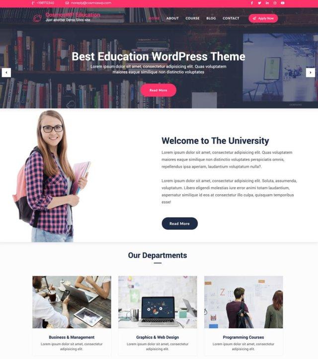 CosmosWP Education