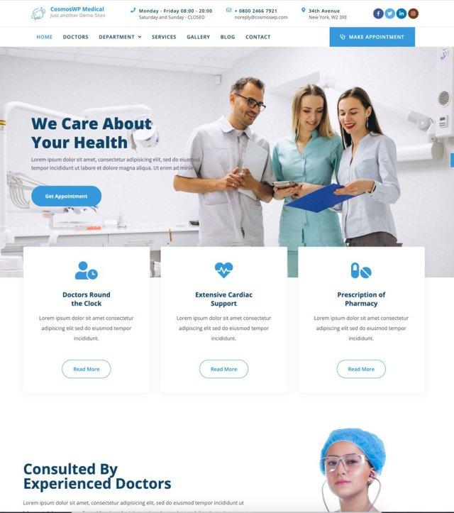 CosmosWP Medical