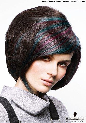 Frisuren Bilder Bob mit groem HinterkopfVolumen im RetroStil  Frisuren Haare