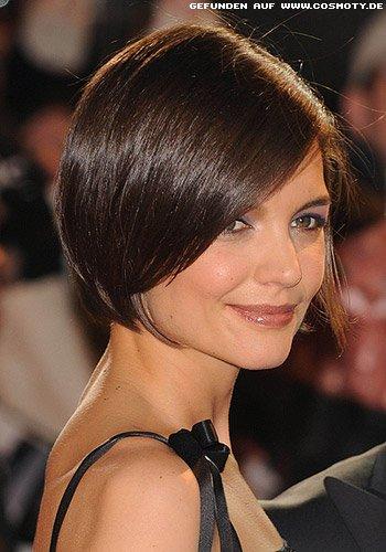 Frisuren Bilder Katie Holmes Kinnlanger Sleek Bob Frisuren Haare