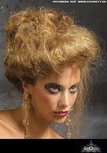 Frisuren Bilder Kleine Locken wild gesteckt  Frisuren Haare