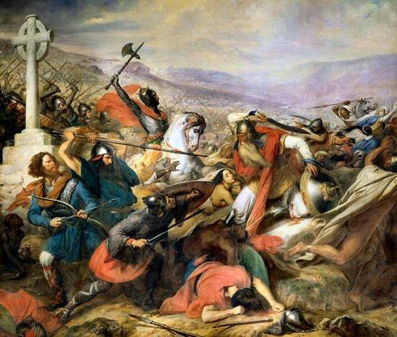 Bataille de Poitiers.