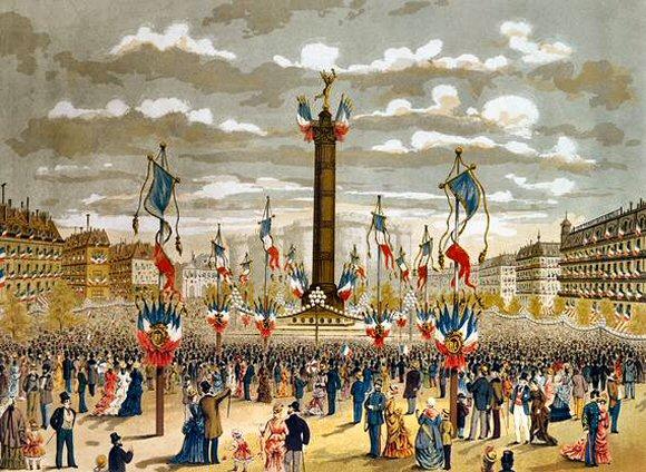 Fête du 14 juillet 1880.