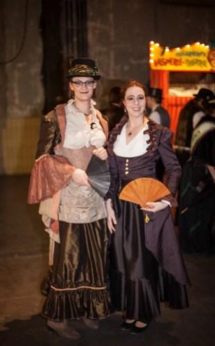 steampunk partner kostüm