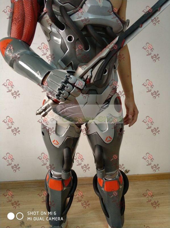Custom Cheap Overwatch Blackwatch Genji Full Cosplay Armor