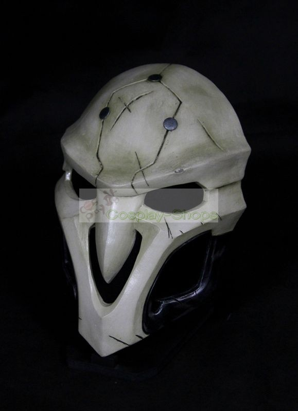 Custom Cheap Overwatch Reaper ingame Cosplay Mask In