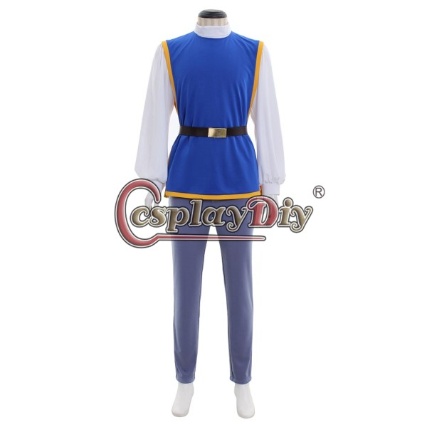 Snow White Prince Charming Cosplay Costume Men Outfit