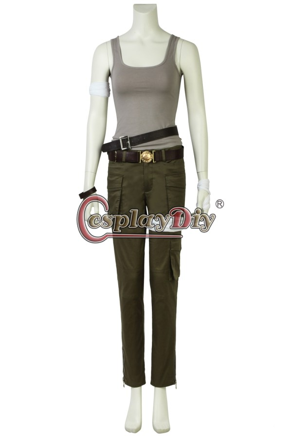 2018 Movie Tomb Raider Lara Croft Cosplay Costume