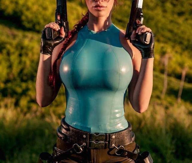 Bianca Beauchamp Lara Croft Tomb Raider Cosplay
