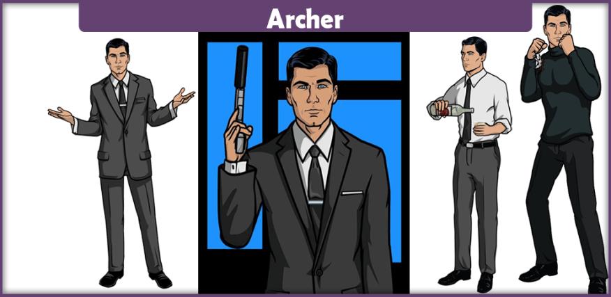 Sterling Archer Costume Turtleneck