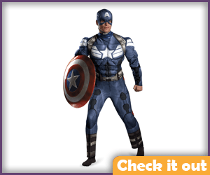 Avengers Costume (with muscles).