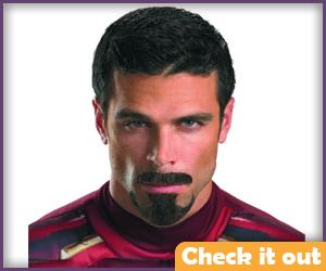 Tony Stark Facial Hair.