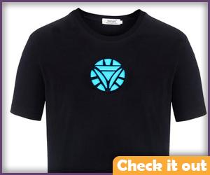 Arc Reactor Triangle T-Shirt.